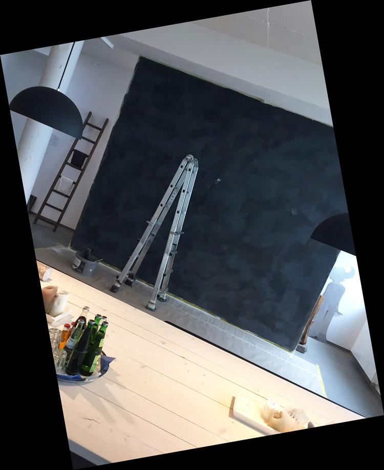 Wohnen in Schwarz-Weiß. | Malerbetrieb Siebertz | Rösrath